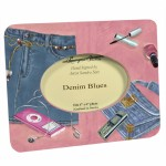 Denim Blues (pink) small frame