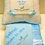 Baby Pillow & Blanket  boy