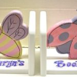 Bee & Lady Bug Bookends