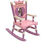 Mini Princess with Heart Rocking Chair