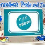 Acrylic Picture Frame grandma's pride & joy