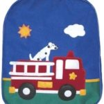 Backpack Canvas  firetruck