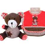 Bib & Animal Set