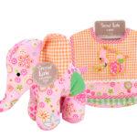 Bib & Animal Set  elephant