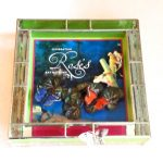 Roses-Bat Mitzvah Glass Box
