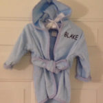 Hooded Robe with Name