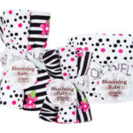 Zahara Hooded Towel, Burp Cloth & Wash Cloth Set