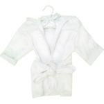 White Baby Robe