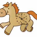 Pony-wall-clock
