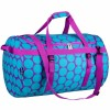 Traveler Duffle   Big Dot Aqua