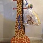 Clothes Hanger with Seat  Giraffe