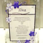 Lucite Box Sample  Tova