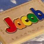 Puzzle Bench with Alphebet