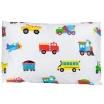 Kids-Trains, Planes, Trucks   Toddler-pillow-case