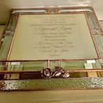 Glass Invitation Box