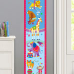 BIG TOP PERSONALIZED KIDS CANVAS GROWTH CHART