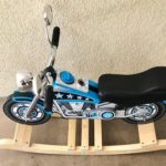 Motorcycle Rocker with name