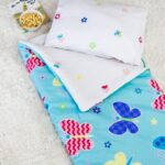 Butterfly Garden Sleeping Bag with Pillow Case