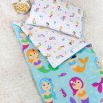 Kids Mermaids Sleeping Bag with pillow case