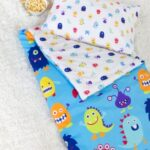 Kids Monsters Sleeping Bag with pillow case