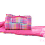 Palm-Beach-Plaid Sleeping Bag