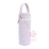 Lilac Seersucker Bottle Bag