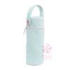 Mint Seersucker Bottle Bag