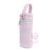 Pink Seersucker Bottle Bag