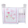 Floral Fun 3 pc Crib Set