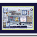 Birth Art 16x20 Airplane