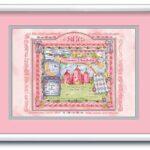 Big Art 16x20 Princess-Pink