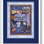 Birth Art 16x20  All-Star-Sports