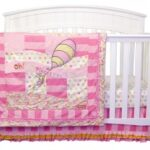 Dr. Seuss Pink Oh, The Places You'll Go! 3 Piece Crib Bedding Set