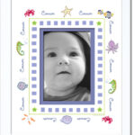 Boy_Under the Sea Name Border Frame