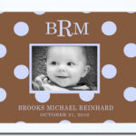 Chocolite Blue Dots Border Name Frame