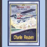 Classic Print 16x20 Airplane