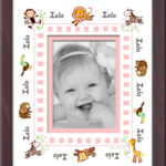 Girl_Jungle Name Border Frame
