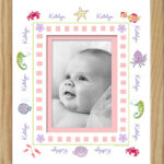 Girl_Under the Sea Name Border Frame