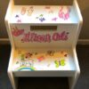 Ballet,Rainbow,Butterfly Step Stool
