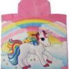 Unicorn Back HOODED TOWEL