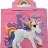 Unicorn Front HOODED TOWEL