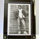 Lucite Picture Frame