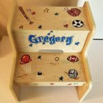 Gregory Painted Step Stool