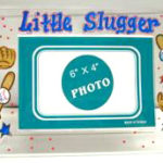 Acrylic Picture Frame  little slugger
