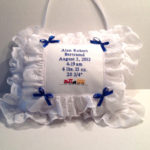Embroidered Musical Baby Pillow