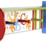 Wood Shelve with pegs  abc
