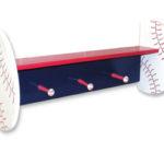 Wood Shelf  Baseball