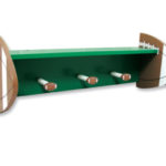 Wood Shelf  Football