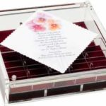 Lucite  Box  with Jewelry tray