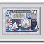Birth Art 16x20 Nautical-Grey